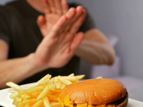 stop eating fast food